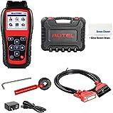 Autel MaxiTPMS TS508(with Extra Screen Wiper) TPMS Relearn/Reset/Diagnosis Tire Sensor DTCs Tool Advance Mode Diagnostic Scan Sensor ID(Advanced TS401/TS408/TS501)