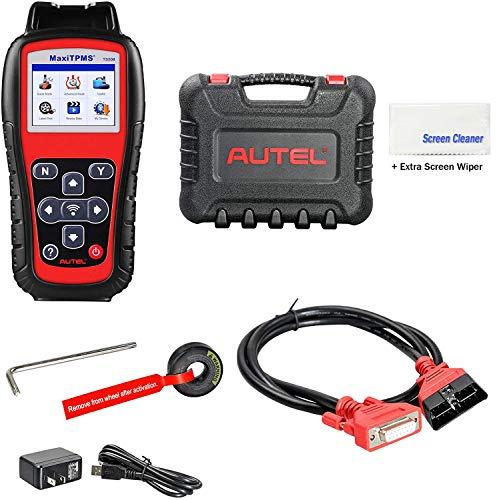 Autel MaxiTPMS TS508(with Extra Screen Wiper) TPMS Relearn/Reset/Diagnosis Tire Sensor DTCs Tool Advance Mode Diagnostic Scan Sensor ID(Advanced TS401/TS408/TS501) -  TS508NJ