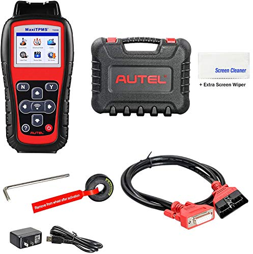 Autel MaxiTPMS TS508(with Extra Screen Wiper) TPMS Relearn/Reset/Diagnosis Tire Sensor DTCs Tool Advance Mode Diagnostic Scan Sensor ID(Advanced TS401/TS408/TS501)