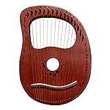 Suppemie Lyra Harfe 16 String 16 Notizen Tragbare Kleine Harfe