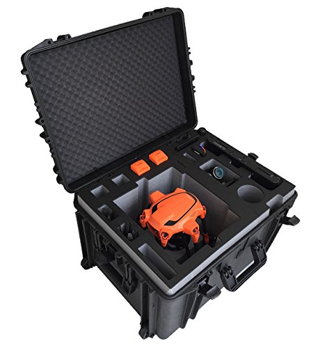 Professioneller Transportkoffer/Trolley für den Typhoon H Advanced und Pro mit montierten Propellern und Kamera! Jetzt mit ausziehbarem Griff!