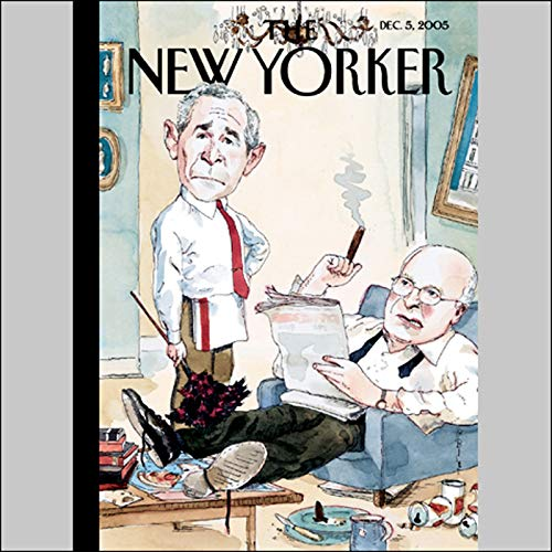 The New Yorker (Dec. 5, 2005) audiobook cover art