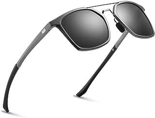 2020 VentiVenti Pentagon Double Bridge Aluminum Polarized Sunglasses Twin Beams Fashion For Men Driving