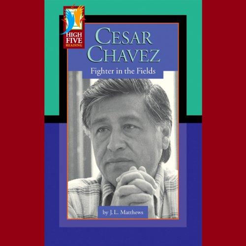 Cesar Chavez audiobook cover art