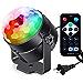 Sound Activated Party Lights with Remote Control Dj Lighting, RBG Disco Ball, Strobe Lamp 7 Modes Stage Par Light for Home Room Dance Parties Birthday DJ Bar Karaoke Xmas Wedding Show Club Pub (Renewed)