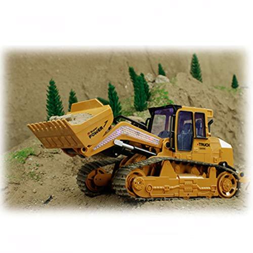TOOGOO 2,4 Ghz Elektrische Rc LKW Bulldozer Engineering Fahrzeuge Modell Fern Bedienung Auto Jungen Spielzeug für Kinder Geschenke