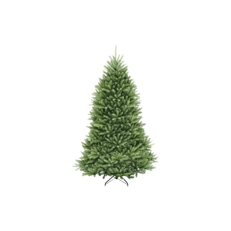 silk flower arrangements national tree company artificial christmas tree   includes stand   dunhill fir - 6.5 ft