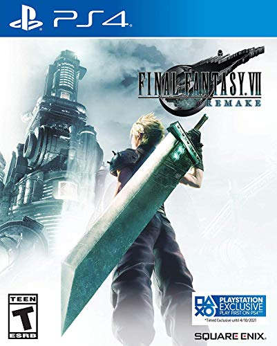 Final Fantasy VII Remake - Edição Steelbook - PlayStation 4