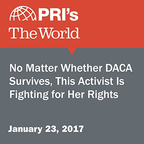 No Matter Whether DACA Survives, This Activist Is Fighting for Her Rights cover art