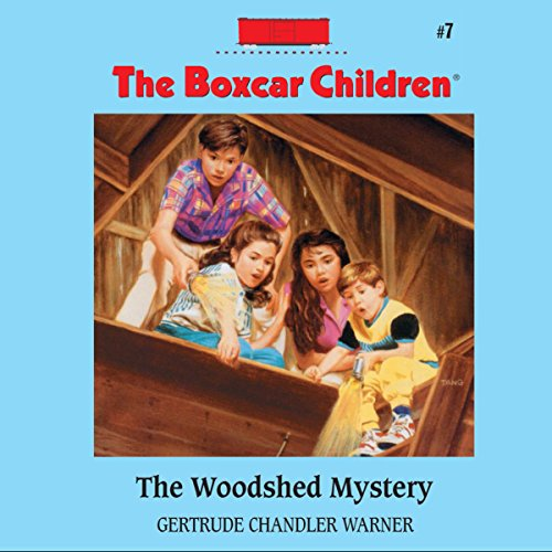 The Woodshed Mystery audiobook cover art