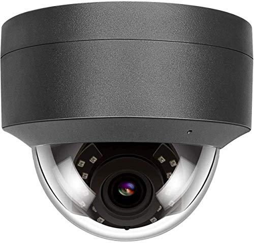 5MP HD POE IP Kamera Outdoor, IP Überwachungskamera 108° weiter Betrachtungswinkel IR Nachtsicht wasserdicht Bewegungserkennung Support Onvif kompatibel