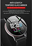 Large Round Color Screen Smart Watch 1.3 Inch IPS Color Screen IP68 Waterproof Multi-Sport Mode Heart Rate Blood Pressure Sleep Monitor Compatible with Android iOS Phone