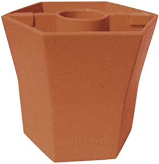 Patio Umbrella Planter Vase Centerpiece, by Brella Vase (Terra Cotta)