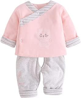 BOZEVON Unisex Newborn Baby Clothes Set Warm Tops & Trouser Outfits 2 Pcs Sets