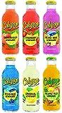 Calypso Lemonades 16 Ounce Glass Bottles 6 Pack (6 Flavor Sampler Pack)