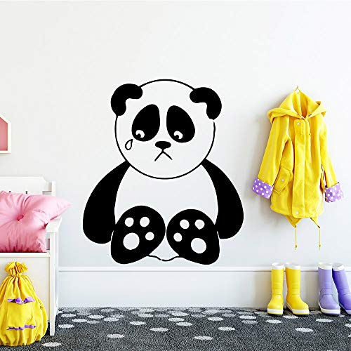 Yaonuli Gepersonaliseerde panda decoratie muursticker kinderkamer interieur kunst sticker