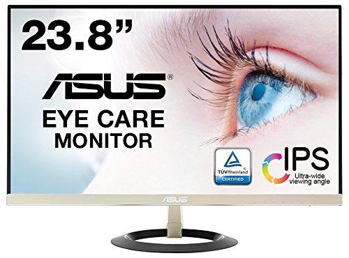ASUS フレームレス モニター 23.8インチ IPS 薄さ7mmのウルトラスリム ブルーライト軽減 フリッカーフリー ...