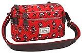 Karactermania Disney Classic Minnie Cheerful Bolsos Bandolera, 24 cm, Rojo