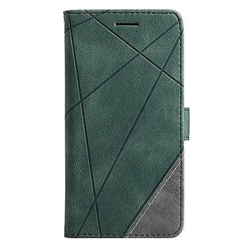 JiuRui-504 kuaijiexiaopu Fundas para Xiaomi MI 10 10X 5G, Caso DE PANTALIO DE Retro Cubierta DE Cubierta para REDMI 10X Pro 5G (Color : Verde, Material : For Redmi 10X 5G)