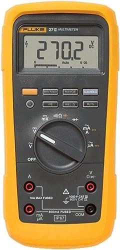 2021 Fluke lowest 27II high quality AVG Multimeter, 1000V AC/DC Voltage, 10A Current outlet sale