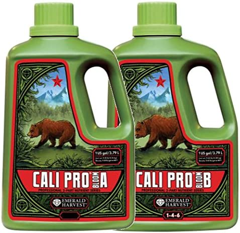 Emerald Max 56% OFF Harvest GL56723914.922 Cali Pro A+B Bloom Com Fertilizer Super sale period limited