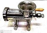 Tritacarne manuale n.12 con staffe per fissaggio a banco PORKERT