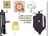 Dalu Movimento Meccanismo a Pendolo Filettatura Alta Anche x Ricambio Thun e Lancette Moderne