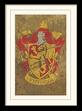 Harry Potter Gryffindor Crest Memorabilia Art Print, 30 x 40 cm
