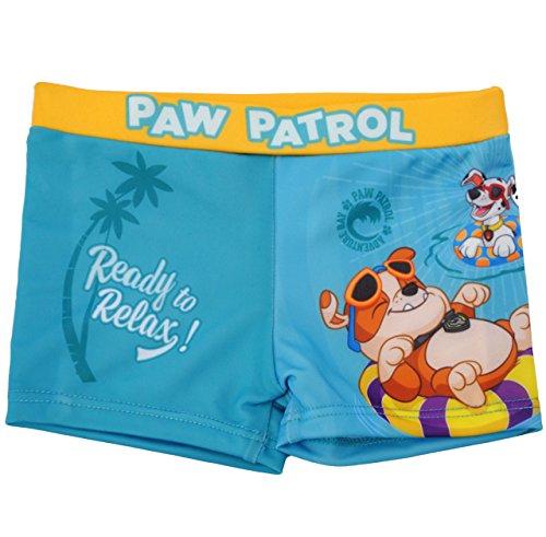alles-meine.de GmbH Badehose / Badeshorts -  Hunde - Paw Patrol  - Größe 4 bis 5 Jahre - Gr. 110 bis 116 - für Jungen Kinder Badepants - Boxershorts Shorts mit Bein - Pants - H..