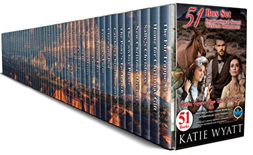 51 Inspirational Sweet Western Romances Box Set (Mega Box Set Series Book 11) (English Edition)