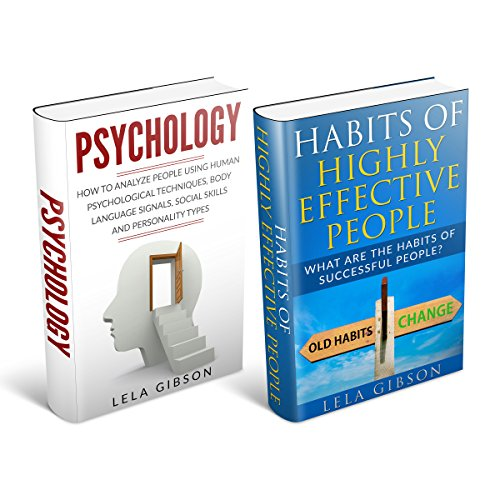 Psychology & Habits of Highly Effective People Box Set audiobook cover art