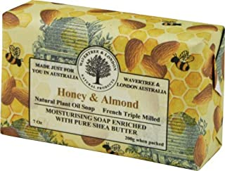 Wavertree & London Honey and Almond luxury soap 7oz