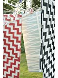 Brita Sweden Plástico Alfombra moderna de pasillo tejido plano Karin Gris 70x200 cm - libre de contaminación - 100% Fibra de plástica (Jacquard) - Ornamental - Tejido plano - Cocina