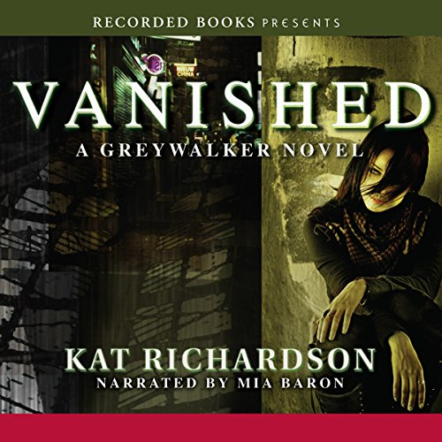 Vanished: Greywalker, Book 4 audiobook cover art