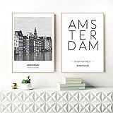 Danjiao Niederlande Amsterdam Landschaft Foto Leinwand