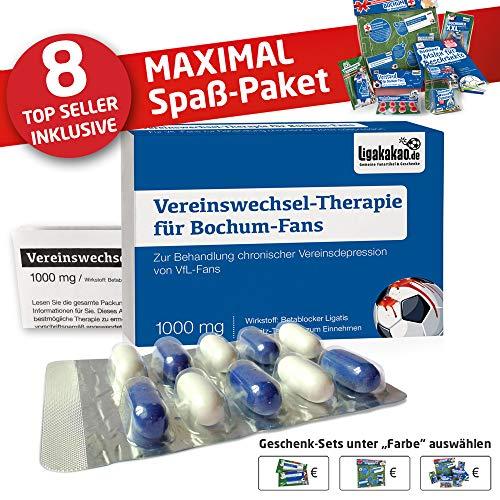 Bochum Fahne ist jetzt das MAXIMAL SPAß Paket für VFL-Fans by Ligakakao.de   große Hissfahne mit Vereins Logo, blau-weiß