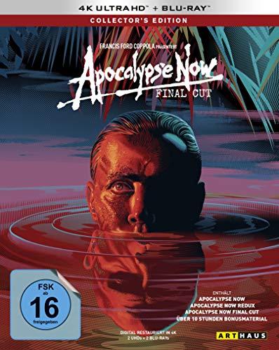 Apocalypse Now / The Final Cut / Collector's Edition / (Kinofassung, Redux & Final Cut)(2 4K Ultra HD) (+ 2 Blu-ray 2D)