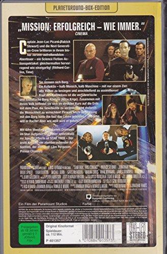 Star Trek -Der erste Kontakt - Planetground Box Edition - VHS
