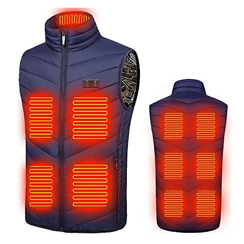 Orgrul Chaleco calefactor USB 2021, chaleco...