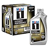 Mobil 1 Extended Performance Full Synthetic Motor Oil 5W-30, 6-Pack of 1 quarts