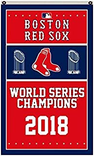 Reddingtonflags Boston Red Sox 2018 World Series Champions Banner Flags 3x5 FT