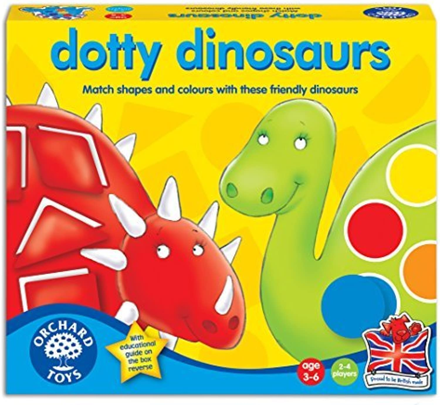 Orchard Toys Dotty Dinosaurs by Orchard Toys