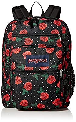 JanSport Big Student Backpack - Sustainable 15-inch Laptop School Bag, Betsy Floral, One Size