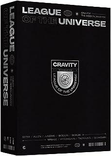 クラヴィティ - CRAVITY LEAGUE OF THE UNIVERSE [KPOP MARKET特典: 追加特典両面フォトカードセット] [韓国盤]