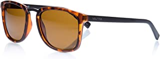 ffe3ec71db530 Óculos Nautica N3622Sp 237 Tartaruga Lente Polarizada Marrom Flash Tam 54
