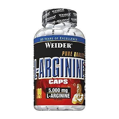 Weider L- Arginine Caps, 100 Capsules