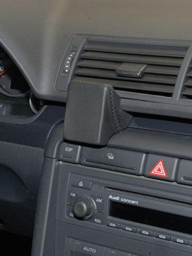KUDA 293415 Halterung Kunstleder schwarz für Audi A4 B6/B7 ab 11/2000 bis 10/2007 (Nicht Cabrio)