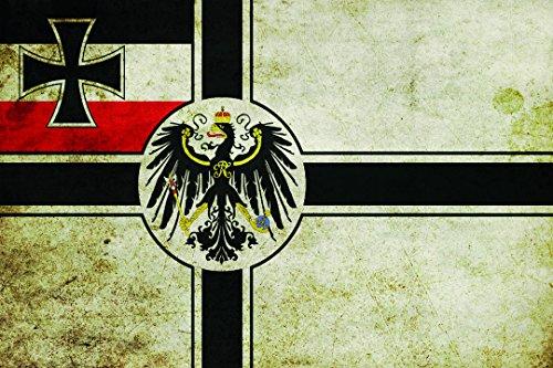 Schatzmix Deuschland Fahne länder Flagge mit Adler blechschild