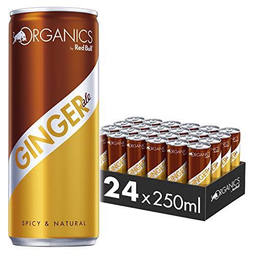 Organics by Red Bull Ginger Ale 24 x 250 ml OHNE Pfand Dosen Bio Getränke