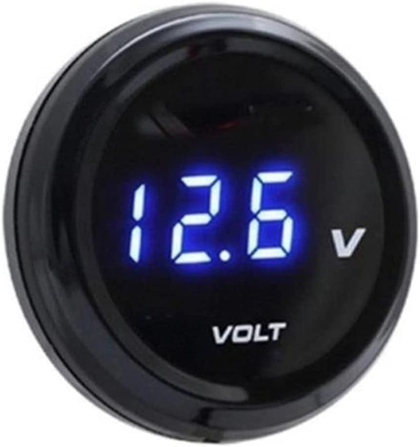 Mini Portable Waterproof Motorcycle Voltage LED Outlet sale feature Displ Gauge with High order
